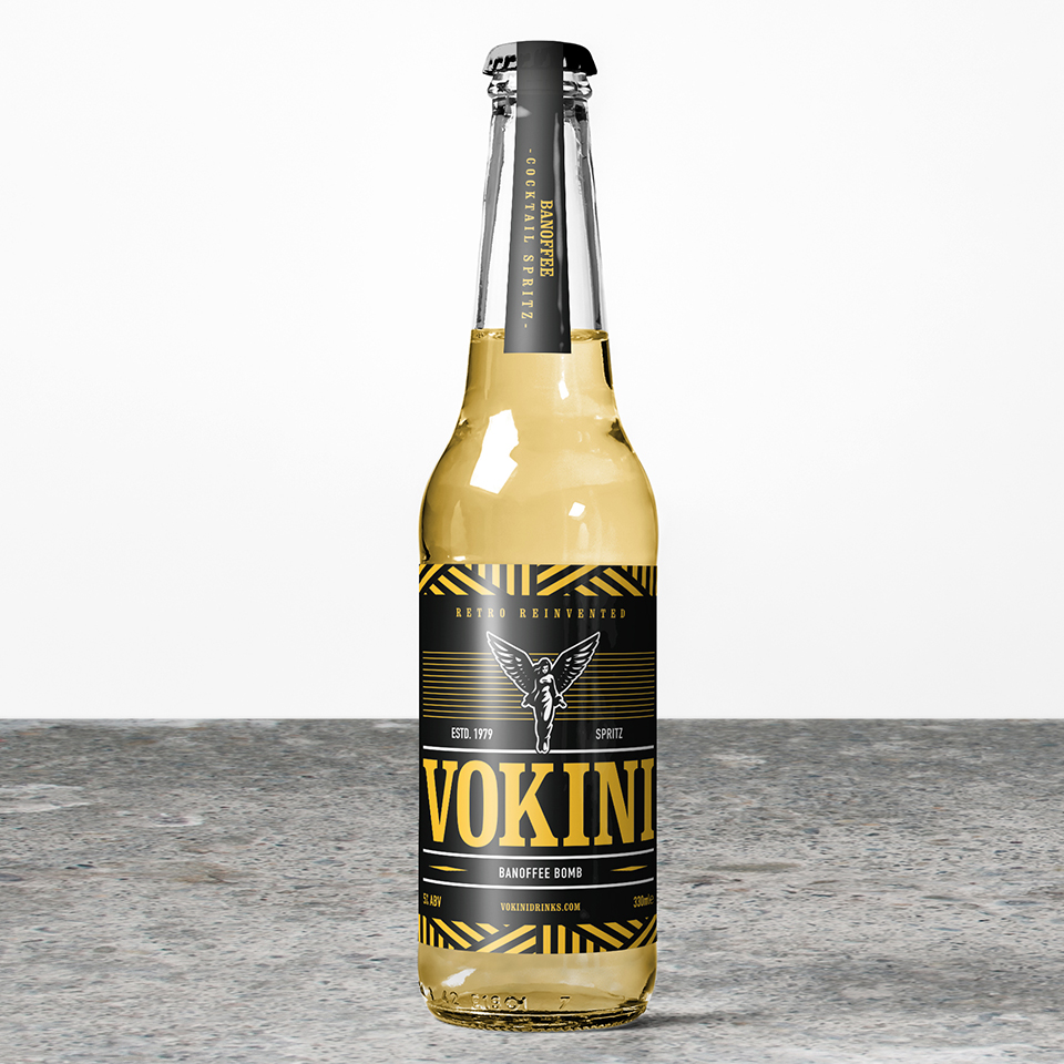 Vokini Banoffee Bomb Alcoholic Drink