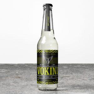 Vokini Zingy Lemon & Lime Alcoholic Drink