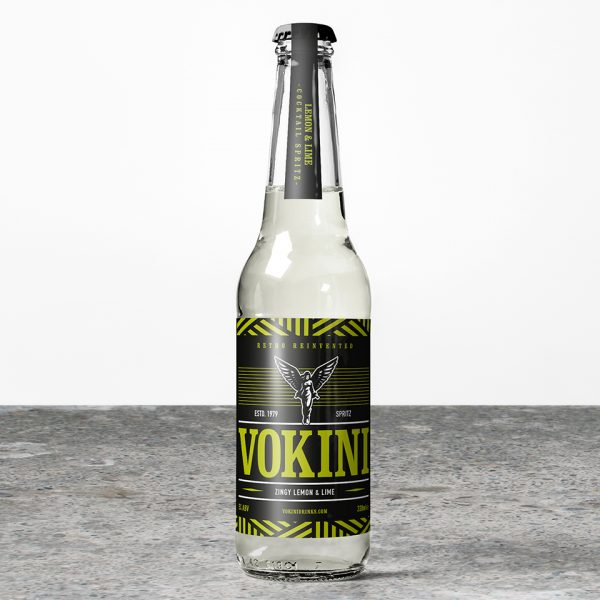 Vokini Zingy Lemon & Lime Alcoholic Drink