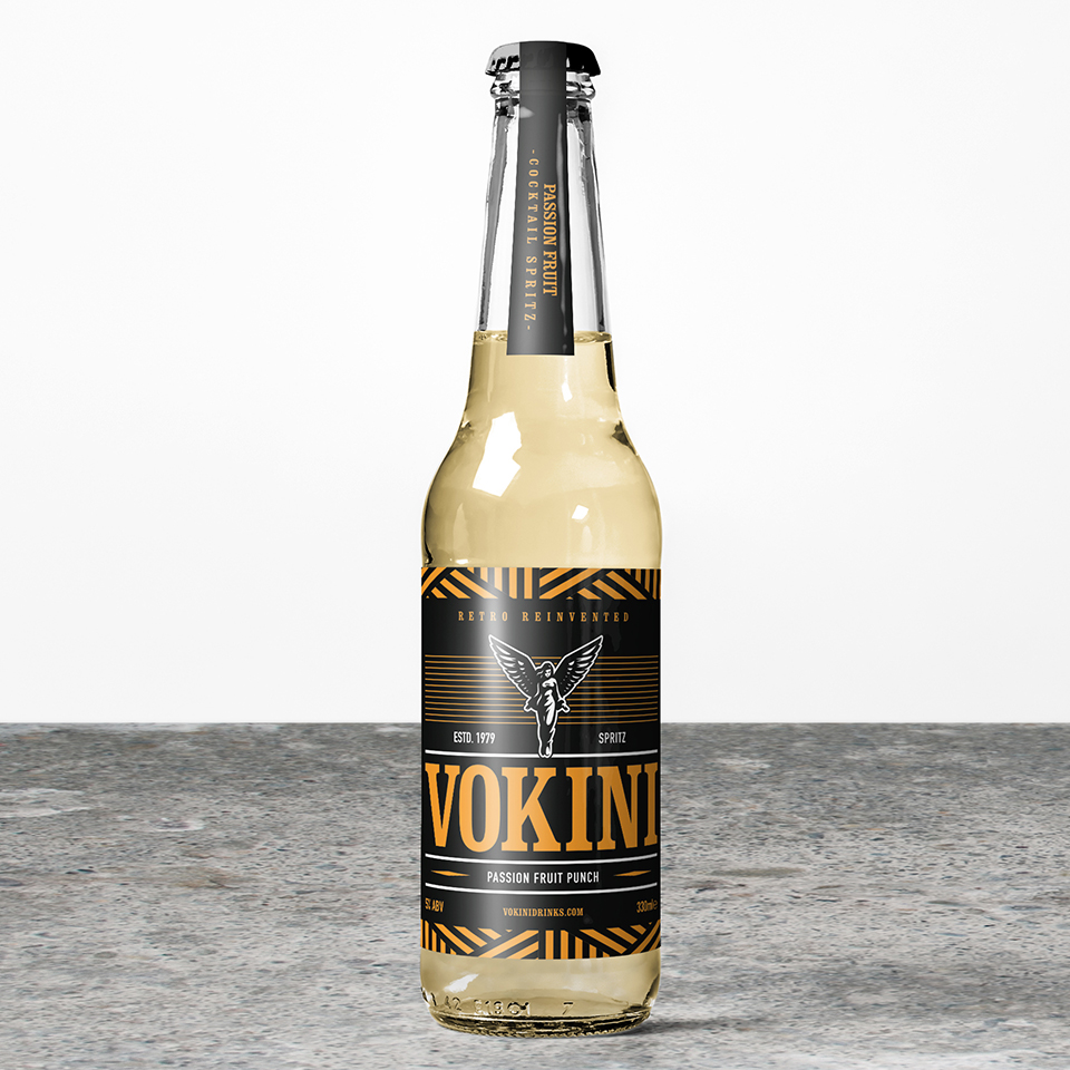 Vokini Passion Fruit Punch Alcoholic Drink