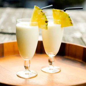 Vokini Banana Float Cocktail