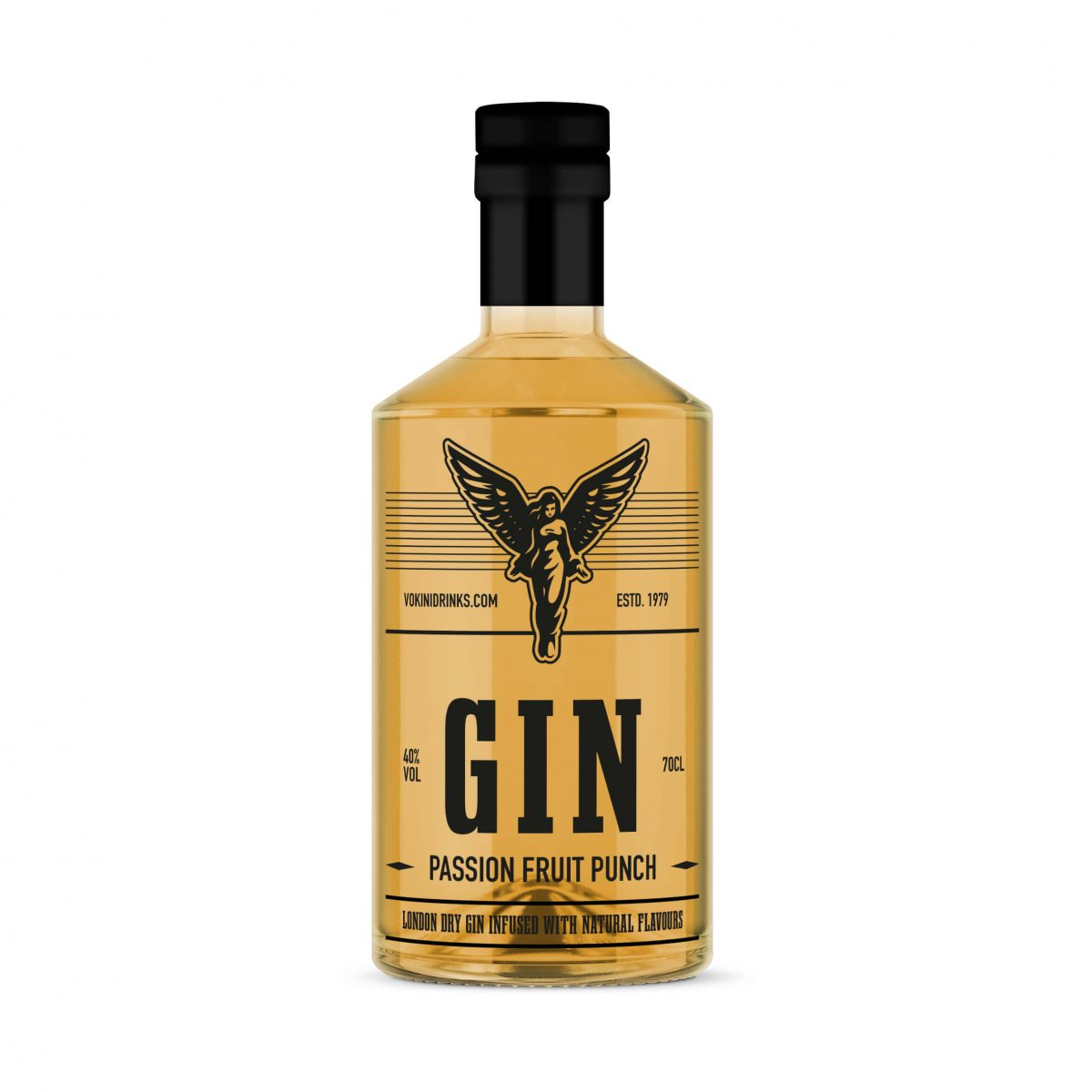 Passion fruit gin vokini